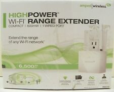 Amped Wireless REC10 High Power 600mW Compact Wifi Range Extender