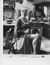 Diana Dors busty leggy Nun VINTAGE Photo Pied Piper