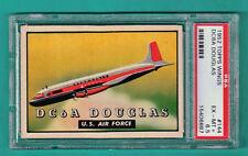 1952 Topps Wings DC6A Douglas – #144 PSA 6.5!