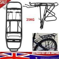 Bicycle Mountain Bike Rear Rack Seat Mount Pannier Luggage Carrier  Shelf Rack