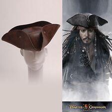 Pirates of the Caribbean Jack Sparrow Tri Corner Buccaneer Hat Halloween Cosplay