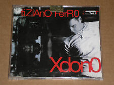 TIZIANO FERRO - XDONO - CD SINGOLO SIGILLATO (SEALED)