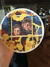 Norman Rockwell Collector Plate 'The Toy Shop Window' Christmas 1977