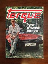 "BRT Scarce 1970's Retro/Vintage Australian Auto Book ""TORQUE"" Peter Wherrett ABC"