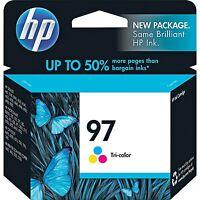 GENUINE NEW HP 97 (C9363WN) Ink Cartridge