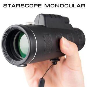 Starscope Monocular - Télescope monoculaire Zoom 40X60 avec support tél +trépied