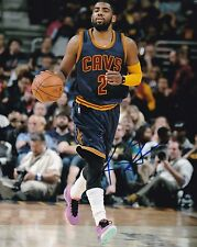 KYRIE IRVING CAVALIERS SIGNED AUTOGRAPH 8X10 PHOTO