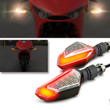 2x Motorcycle Turn Signal LED Light Universal Daytime Running Lights 12V 2.5W