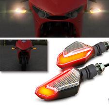 2x Motorcycle Turn Signal LED Light Universal Daytime Running Lights 12V 2.5W