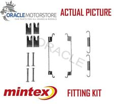 NEW MINTEX REAR BRAKE SHOES SET FITTING KIT PIN SPRINGS GENUINE QUALITY MBA866