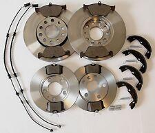 🌟 Bremsen Set E46 Bremsen vorne + hinten komplett + Handbremse und Sensoren 🌟