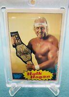 1985 Topps WWF WWE Hulk Hogan #1 Rookie Yellow RC Beautiful Centered