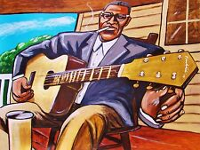 HOWLIN WOLF PRINT poster delta blues guitar smokestack lightning cd chess record