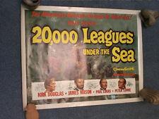 20,000 LEAGUES UNDER THE SEA 1955 AFFICHE POSTER US