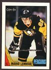 1987-88 OPC O PEE CHEE # 15 Mario Lemieux 3RD YEAR PITTSBURGH PENGUINS