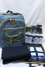 Isothermal Picnic Backpack - 4 people - Yellow