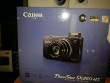 Canon Powershot Sx260 Hs 12.1 Mp Cmos Digital Camera 20X Image Stabilizer Gray