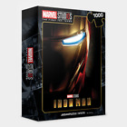 """Jigsaw Puzzles 1000 Pieces """"Iron Man"""" / Marvel 10th Year Edition / M1019"""
