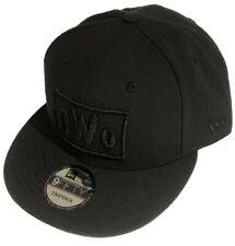 NWO New World Order WWE Wrestling New Era 9Fifty Snapback Black on Black Hat Cap