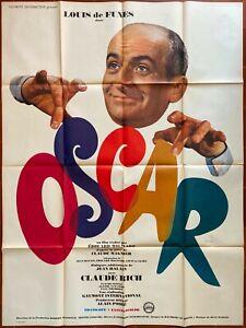 Poster Oscar Edward Molinaro Louis de Funès Claude Rich 120x160cm