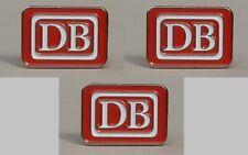 Magnete DB Deutsche Bundesbahn rot/weiß/silber 2cm – 3 Stück (M01)