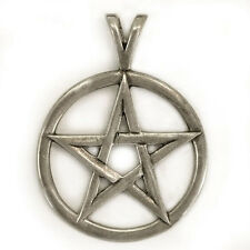 Sterling Silver Star Pendant, Size Large, Free Shipping