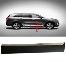 Front Door Lower Molding 2016-17-18 Sorento Passenger Side Garnish With Chrome