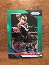 Evan Turner 2018-19 Prizm Green #101 Portland Trail Blazers