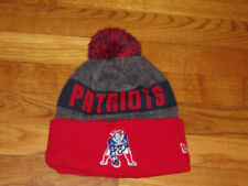 NEW ERA NEW ENGLAND PATRIOTS NFL FOOTBALL ADULT BEANIE CAP EXCELLENT CONDITION