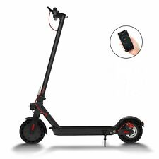 Folding Electric Scooter Commuting Portable Adults Double Braking System Black