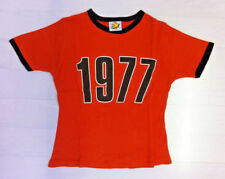 Ash 1977 Orange and Brown. Very Small. Skinny fit. Will fit size 8. 50cm Length.