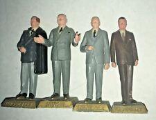 Marx Presidents America toy action figure 1960s vintage Set of 4