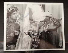 NIGEL PLANER / RIK MAYALL  - CARRY ON FILM ACTORS -  EXCELLENT SIGNED PHOTOGRAPH
