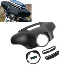 Matte Black Front Outer Fairing For Harley Tri CVO Street Electra Glide 14-18 US