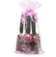 HEAD JOG PINK CERAMIC 5 PIECE BRUSH SET