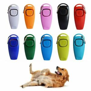Tame Dog Training Whistle Recall Whistle Puppy Training 2 In 1 Pet Clicker