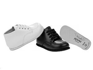 Josmo Baby Beginner Unisex Walking Shoes First Walker - Size 2-6. Medium & Wide