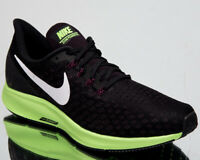 Nike Air Zoom Pegasus 35 Men's New Black White Burgundy Running Shoes 942851-016