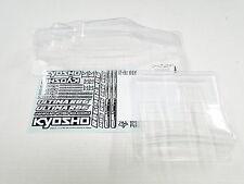 NEW KYOSHO ULTIMA RB6.6 Body Clear + Wing & Decals KB8