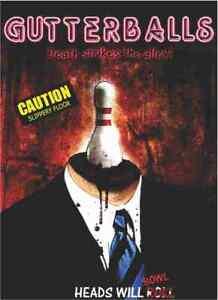 Gutterballs - Horror - Alastair Gamble, Mihola Terzic, Nathan Witte - DVD