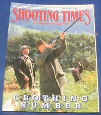 SHOOTING TIMES MAGAZINE SEPTEMBER 15-21 1988 - CLOTHING NUMBER