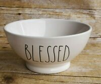 New Rae Dunn Artisan Collection by Magenta BLESSED White Bowl
