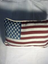 American Flag Tapestry Throw Pillow Afghan Pillow