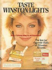 """Winston Lights Cigarette """"Taste""""1978 Magazine Advert #3596"""