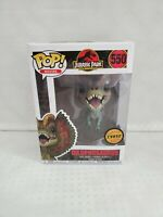Funko Pop Jurassic Park Dilophosaurus #550 Chase Limited Edition New In Box 25th