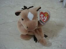 1995 TY Beanie Baby Derby the Horse Retired NEW w/Tags #040087 - 5/6 Generation