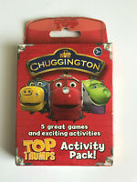 Chuggington Top Trumps - Activity Pack! - 5 great games - 2 to 4 players