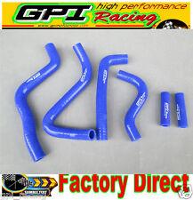 radiator hose Kawasaki KX250 KX 250 2-stroke 1999-2002 2000 2001 blue