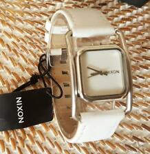 NIXON The DYNASTY Luxury White Leather Ladies watch. Brand New. RRP $249.95