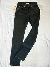 Miss Sixty Blue Jeans Denim W25/L34 normal waist regular fit straight slim leg